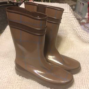Sperry rain boots rubber size 7M